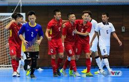 ĐT Futsal Việt Nam đặt mục tiêu lọt vào chung kết giải Futsal vô địch Đông Nam Á 2017