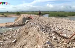 Phú Yên giám sát khắc phục vụ doanh nghiệp ngăn sông Ba làm đường trái phép