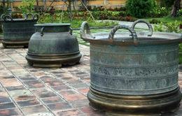 Vạc đồng thời Nguyễn - Bảo vật quốc gia ở vùng đất cố đô