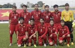 VIDEO Tổng hợp hiệp 1: ĐT nữ Việt Nam 1-1 ĐT nữ Thái Lan