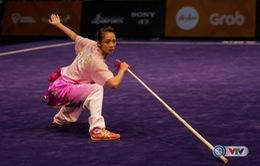 Dương Thúy Vi giành HCV Wushu thế giới