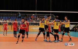 SEA Games 29: ĐT bóng chuyền nam Việt Nam có chiến thắng thứ 2