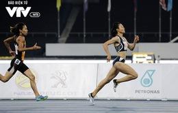 Giành Vàng 100m và 200m, Tú Chinh xứng danh Nữ hoàng tốc độ mới của Đông Nam Á