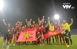 Thắng đậm ĐT nữ Malaysia, ĐT nữ Việt Nam lên ngôi vô địch SEA Games 29