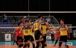 TRỰC TIẾP trên VTV6, bóng chuyền nam: Việt Nam 1-0 Timor Leste (SEA Games 29 ngày 23/8)