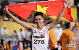 SEA Games 29 ngày 23/8: TDDC, Điền kinh Việt Nam bội thu Vàng