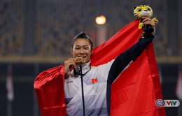 VIDEO SEA Games 29: Lê Tú Chinh giành HCV ở đường chạy 200m