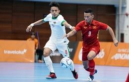 VIDEO SEA Games 29: ĐT Futsal nam Việt Nam ngược dòng ngoạn mục trước Indonesia