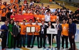 Đội tuyển Robocon Việt Nam vô địch ABU Robocon 2017