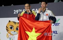VIDEO SEA Games 29: Nguyễn Huy Hoàng giành HCV, phá sâu kỷ lục bơi 1500m tự do