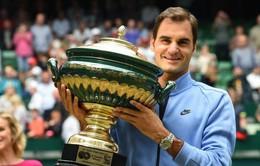 Vô đối tại Halle, Federer áp sát Djokovic trên bảng xếp hạng ATP