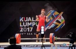 VIDEO Cử tạ: Chấn thương, Trịnh Văn Vinh vẫn phá kỷ lục SEA Games, giành HCV một cách kịch tính