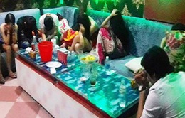 50 nam nữ phê ma túy trong quán karaoke ở Đồng Nai