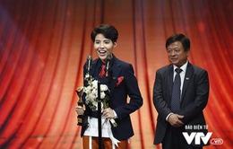 Vũ Cát Tường gọi tên fan khi giành giải tại VTV Awards 2017