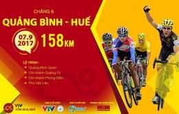 Lộ trình chặng 6 giải xe đạp quốc tế VTV Cúp Tôn Hoa Sen 2017