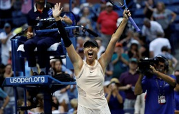 Vòng 2 Mỹ mở rộng 2017: Sharapova thắng nhọc, Wozniacki dừng bước
