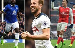 Kịch tính cuộc đua Vua phá lưới tại giải Ngoại hạng Anh: Lukaku, Harry Kane hay Sanchez?