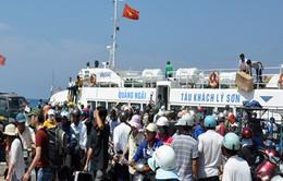 Giảm giá vé tàu cho người dân và cán bộ đảo Lý Sơn, Quảng Ngãi