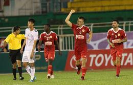 VIDEO: Tổng hợp trận đấu CLB TP Hồ Chí Minh 1-1 SHB Đà Nẵng