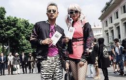 """Tuần lễ thời trang quốc tế Việt Nam Thu - Đông 2017: Các tín đồ thời trang thả dáng tại """"The best street style"""""""