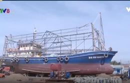 5 tàu vỏ thép hư hỏng ở Bình Định vẫn chưa được sửa chữa
