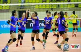 Đánh bại VTV Bình Điền Long An, Ngân hàng Công Thương vô địch giải bóng chuyền siêu cúp quốc gia 2017