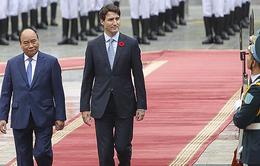 Thủ tướng Canada tới Hà Nội, thăm chính thức Việt Nam