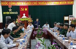 Phó Thủ tướng kiểm tra công tác ứng phó bão tại Khánh Hòa, Ninh Thuận
