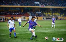 TRỰC TIẾP BÓNG ĐÁ V. League 2017 vòng 25: CLB Hà Nội 0-0 CLB Quảng Nam, FLC Thanh Hoá 0-0 Sanna Khánh Hoà, Hải Phòng 0-1 HAGL