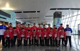 U15 PVF lên đường tham dự giải U15 quốc tế ICC Cup tại Singapore