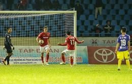 VIDEO: Dyachenko ghi 4 bàn, Than Quảng Ninh hòa kịch tính CLB Hà Nội