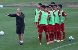VIDEO: Toàn cảnh buổi tập đầu tiên của U23 Việt Nam dưới thời HLV Park Hang Seo