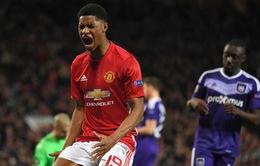 Kết quả tứ kết lượt về Europa League: Manchester United 2-1 Anderlecht , Schalke 3-2 Ajax