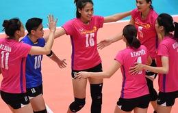 Ngân hàng Công Thương thắng trận đầu tại giải bóng chuyền nữ các CLB châu Á 2017
