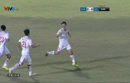 VIDEO: Cú đúp của Lê Thanh Bình, 4-1 cho U21 Việt Nam