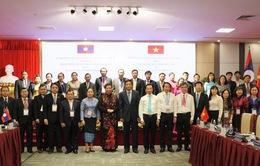 Văn phòng Quốc hội Việt Nam - Lào trao đổi kinh nghiệm