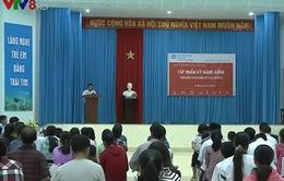 Làng SOS Đà Nẵng tập huấn kỹ năng phòng chống tai nạn cho trẻ