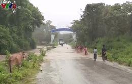 Hiểm họa tai nạn từ các tràn qua suối ở Ninh Thuận
