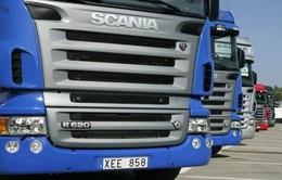 Liên minh châu Âu phạt hãng sản xuất xe tải Scania 880 triệu Euro