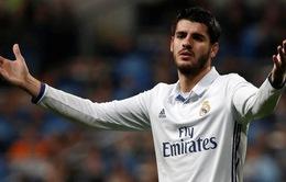 Hét giá Morata cao chót vót, Real Madird bắt chẹt Man Utd