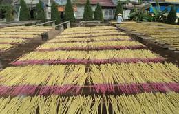 Làng làm hương trăm năm tuổi tại Hưng Yên rộn ràng những ngày giáp Tết
