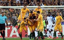 Australia chính thức dự VCK World Cup 2018, chỉ còn duy nhất 1 tấm vé đến Nga