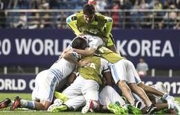 Kết quả tứ kết FIFA U20 thế giới 2017: U20 Uruguay vượt qua U20 Bồ Đào Nha đầy kịch tính trên chấm phạt luân lưu