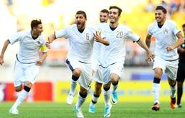 Vượt qua U20 Uruguay bằng loạt luân lưu, U20 Italia giành hạng 3 chung cuộc FIFA U20 Thế giới 2017