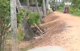 Bình Dương: Hàng trăm hộ dân hiến đất làm đê chống ngập