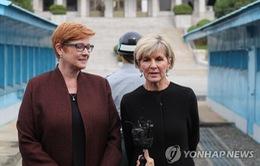 Các bộ trưởng Australia thăm biên giới liên Triều