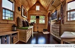 Bên trong ngôi nhà siêu nhỏ đáng mơ ước của cặp vợ chồng trẻ