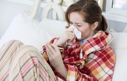 Bệnh cúm mùa rất dễ lây từ người sang người
