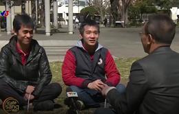 NB Lại Văn Sâm gặp gỡ hai chàng trai đưa bánh mì Việt đến với Nhật Bản
