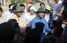 Bộ trưởng Trần Hồng Hà chỉ đạo công tác khắc phục sạt lở tại An Giang